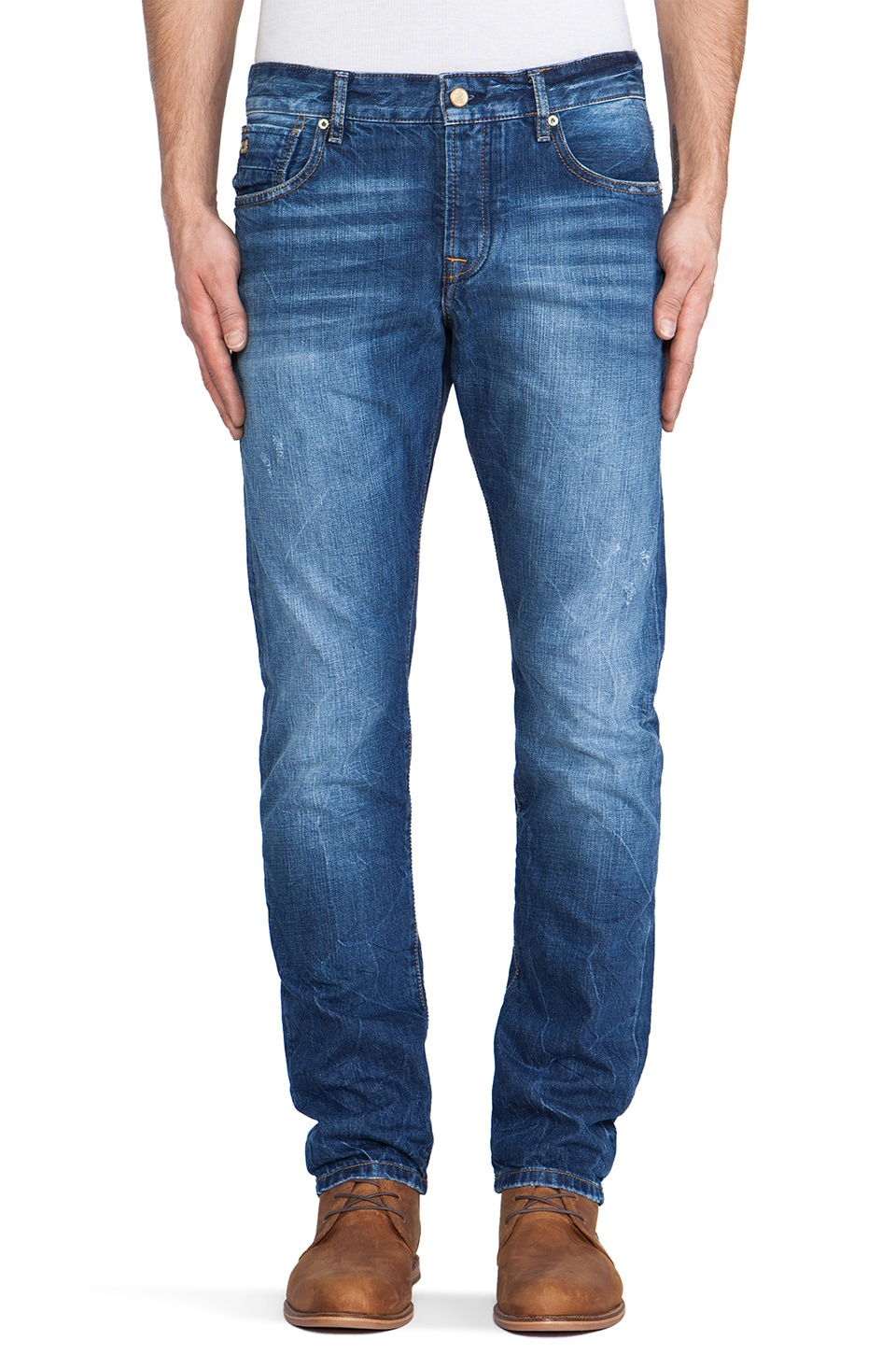 Scotch & Soda Ralston Slim in Absolute Blue