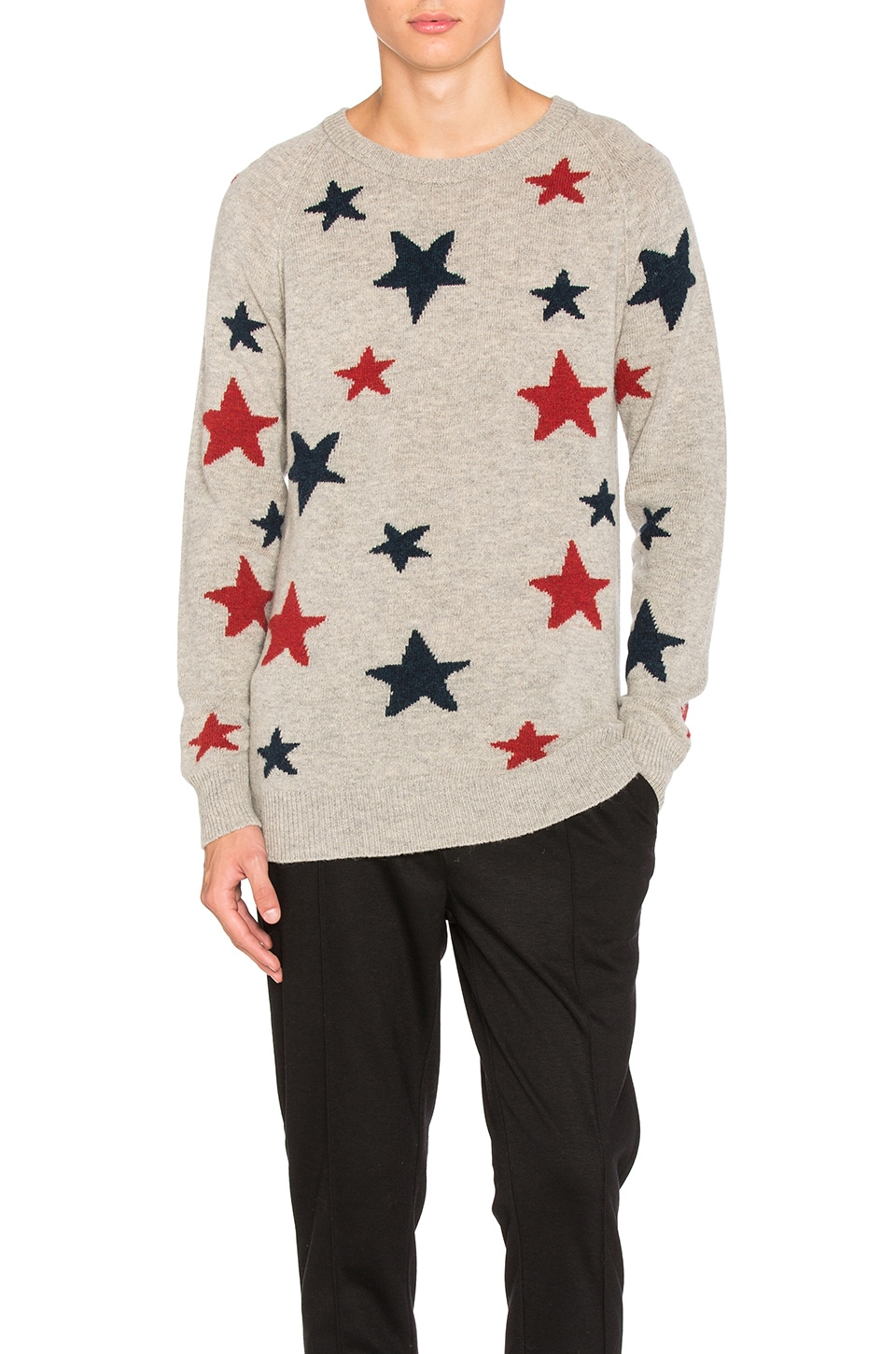 Star Pattern Crewneck Sweater by Scotch & Soda
