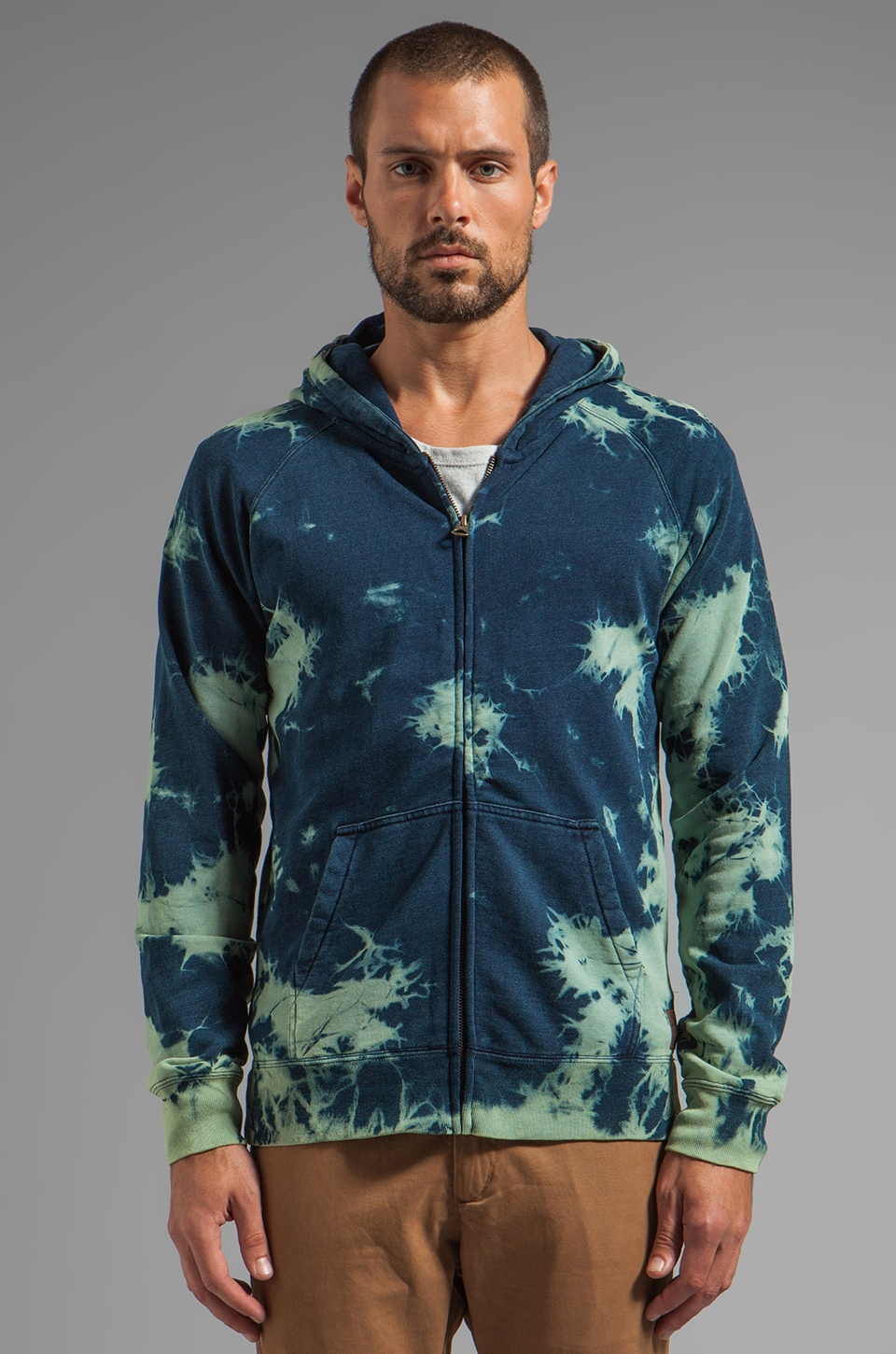 Scotch & Soda Cowboy Zip-Thru in Indigo