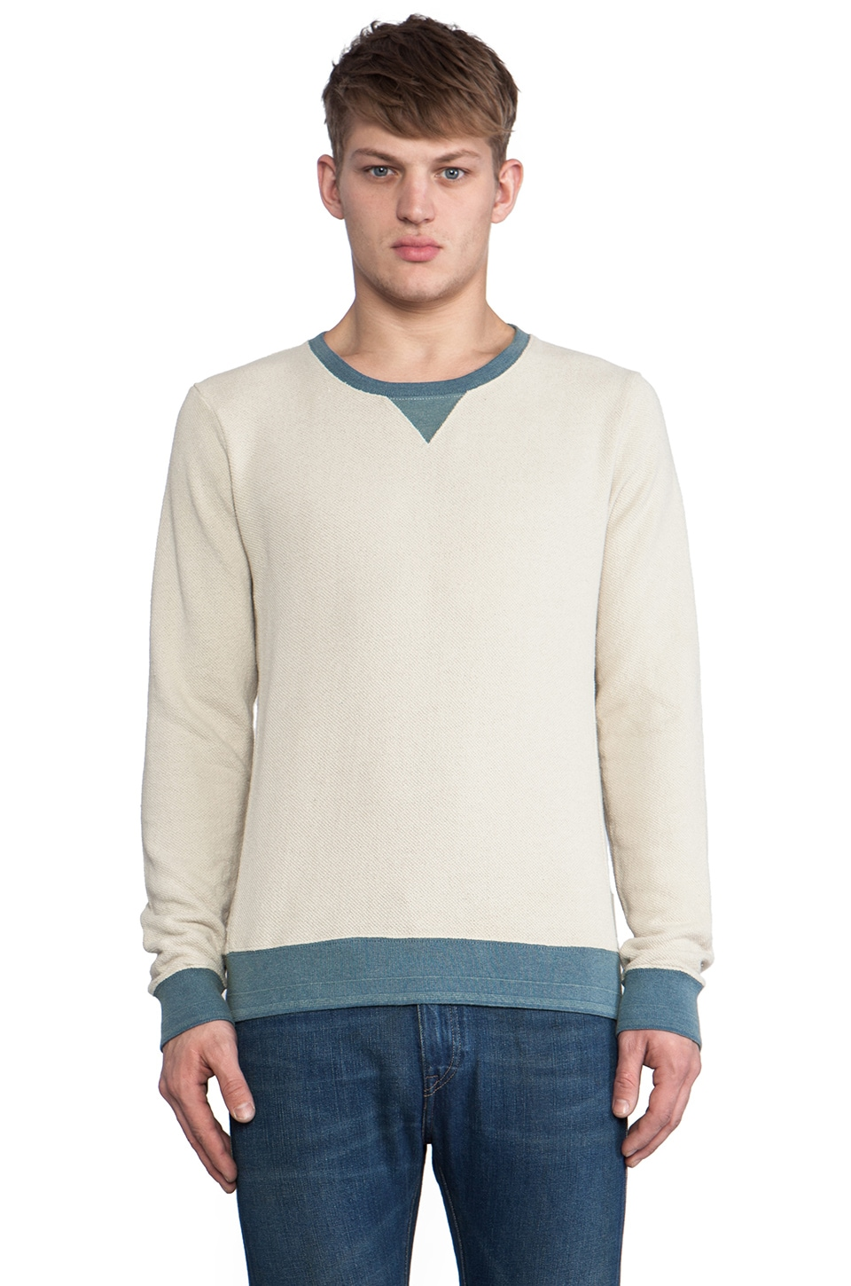 Scotch & Soda Home Alone Raglan in Ecru