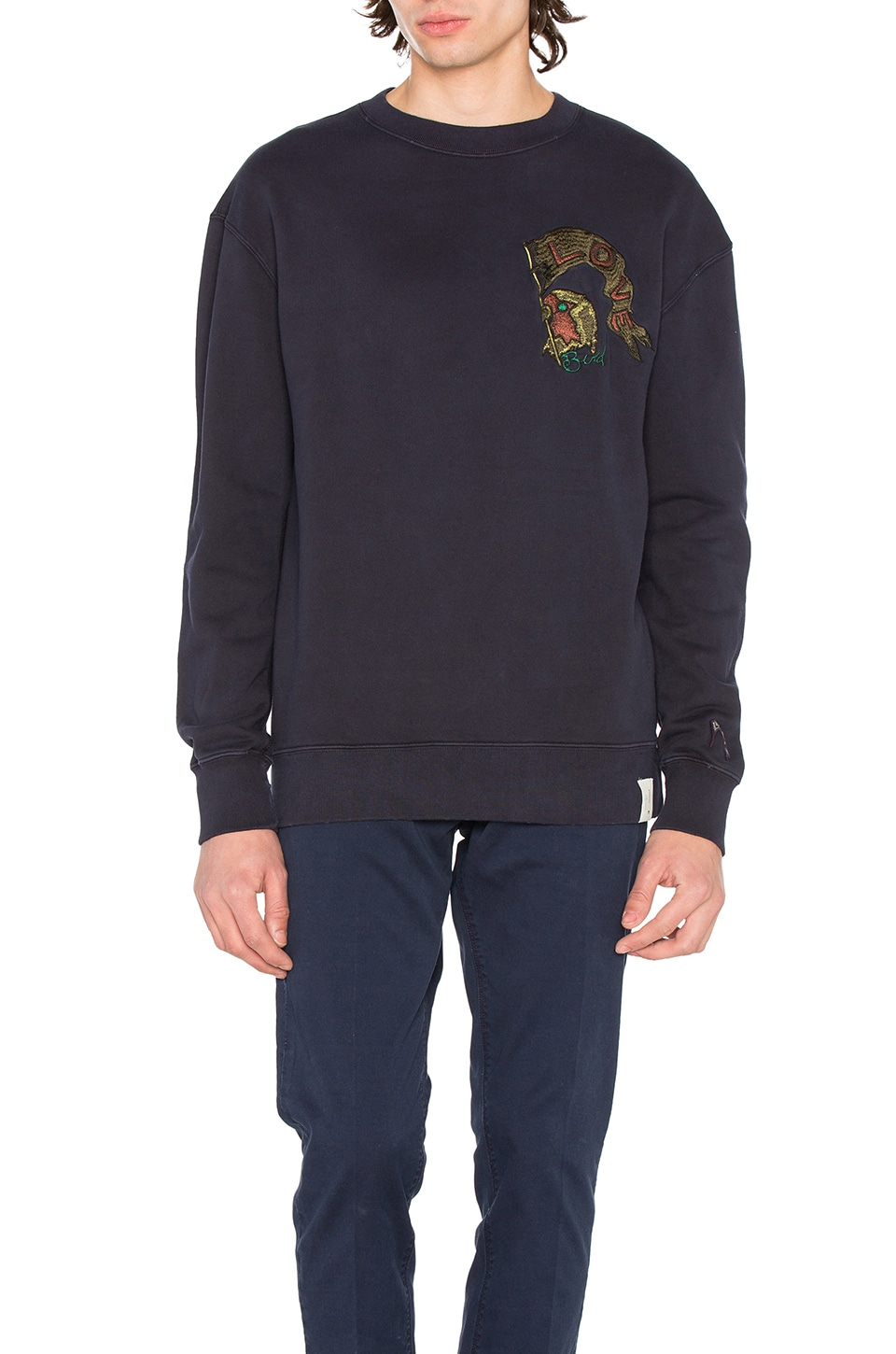 Chest Detail Sweatshirt by Scotch & Soda