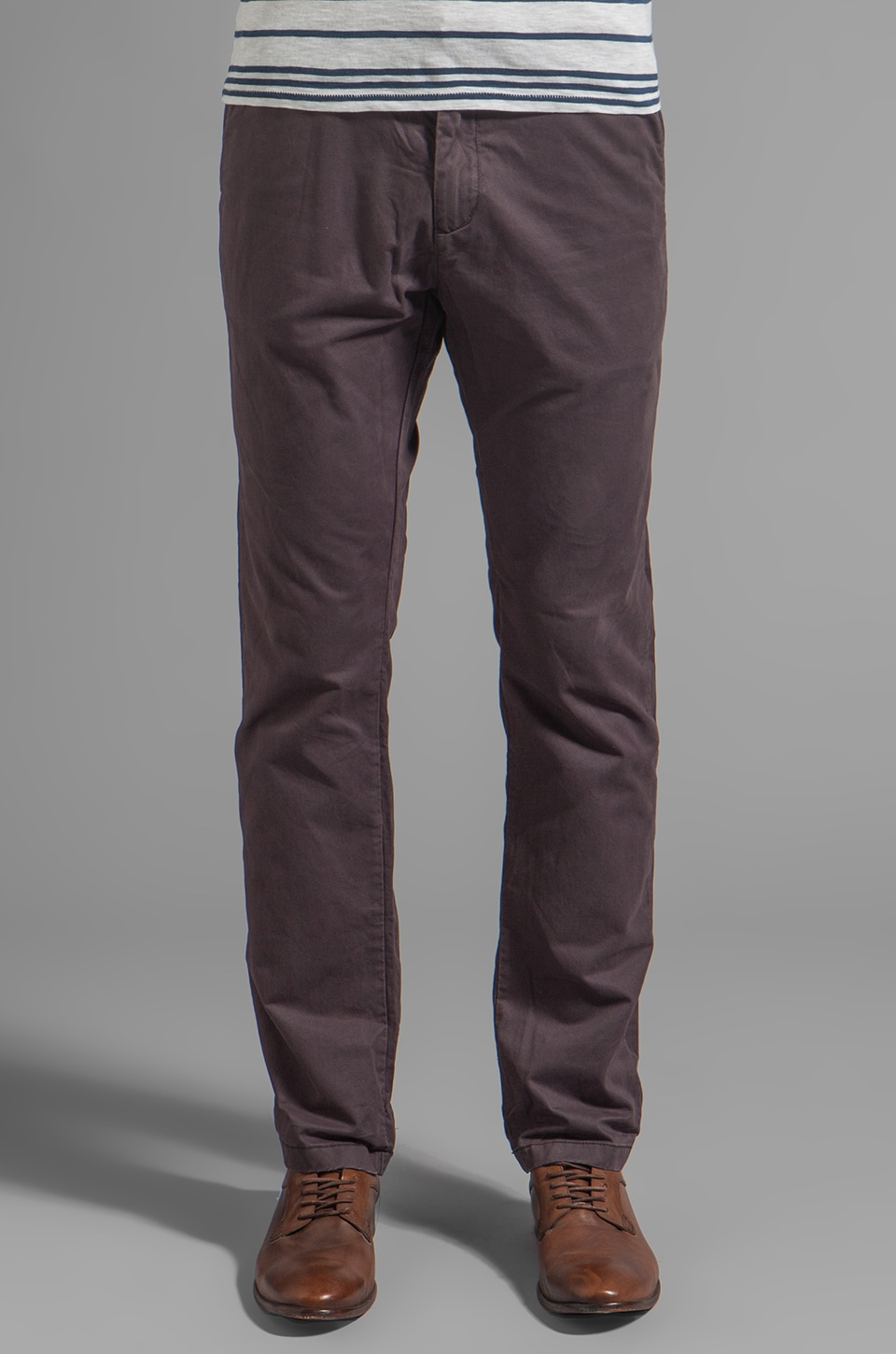 Scotch & Soda Twill Chino in Tabacco