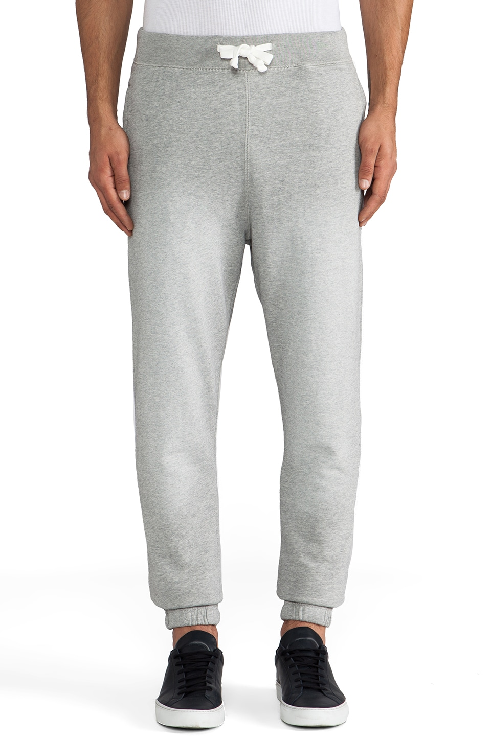Scotch & Soda Slim Fit Sweatpant en Gris Chiné