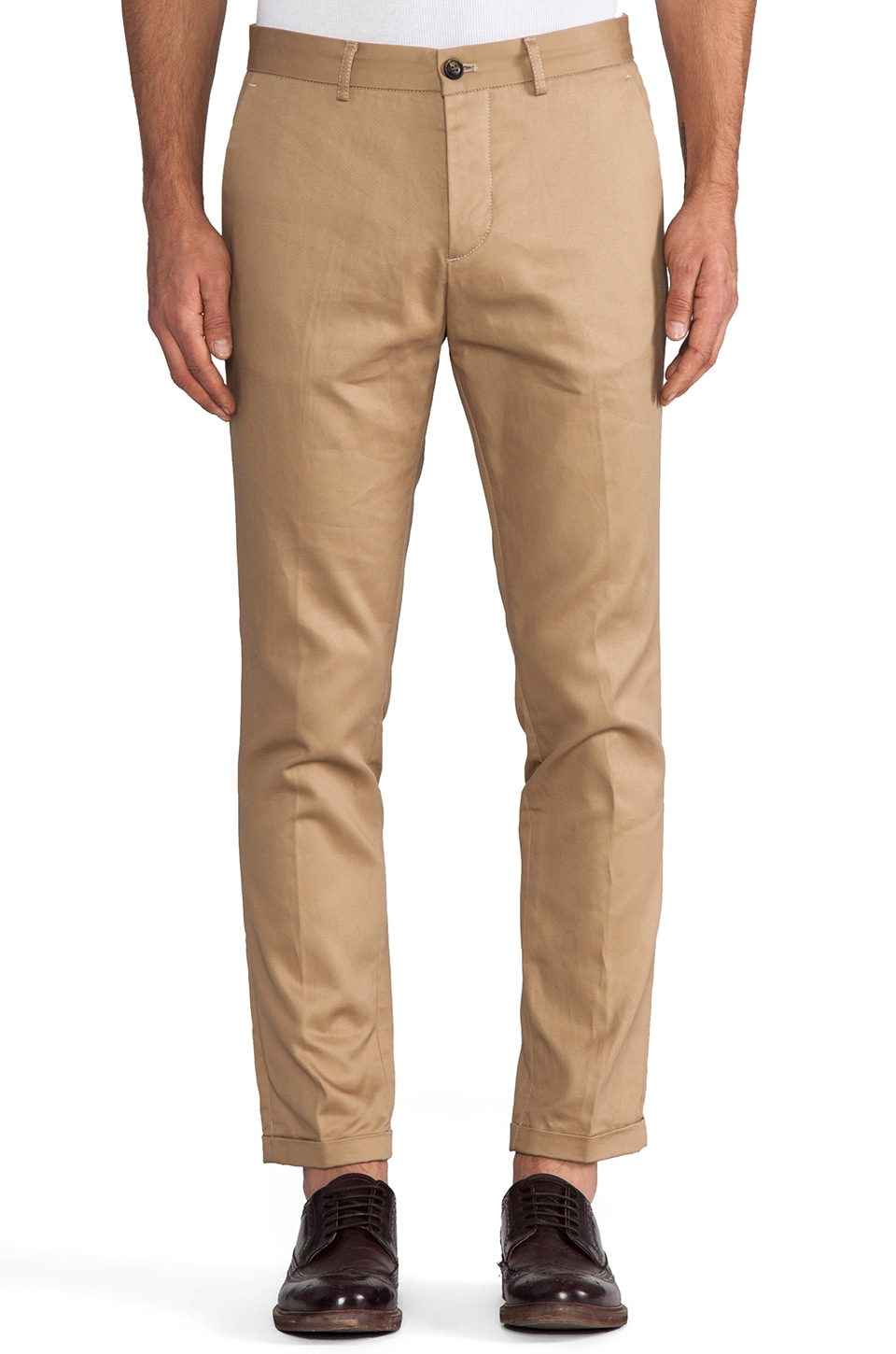 Scotch & Soda Japanese Chino in Sand