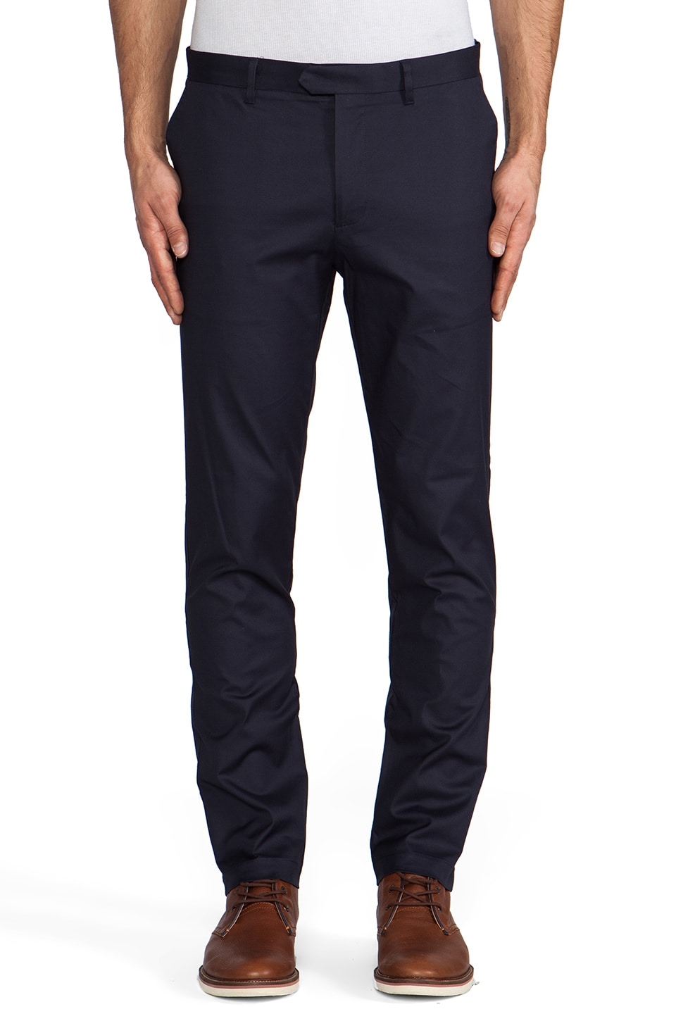 Scotch & Soda Dress Pant in Navy