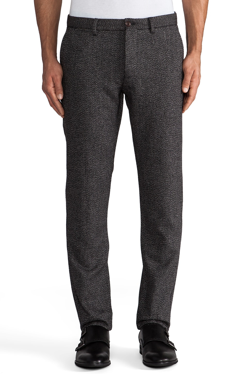 Scotch & Soda Churchill Wooly Pant in Grey