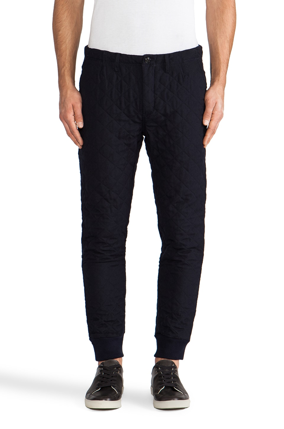 Scotch & Soda Quilted Padded Pant in Night