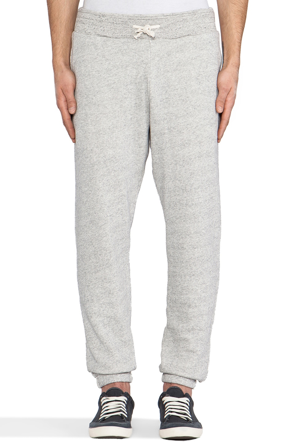 Scotch & Soda Home Alone Sweatpant in Grey Melange