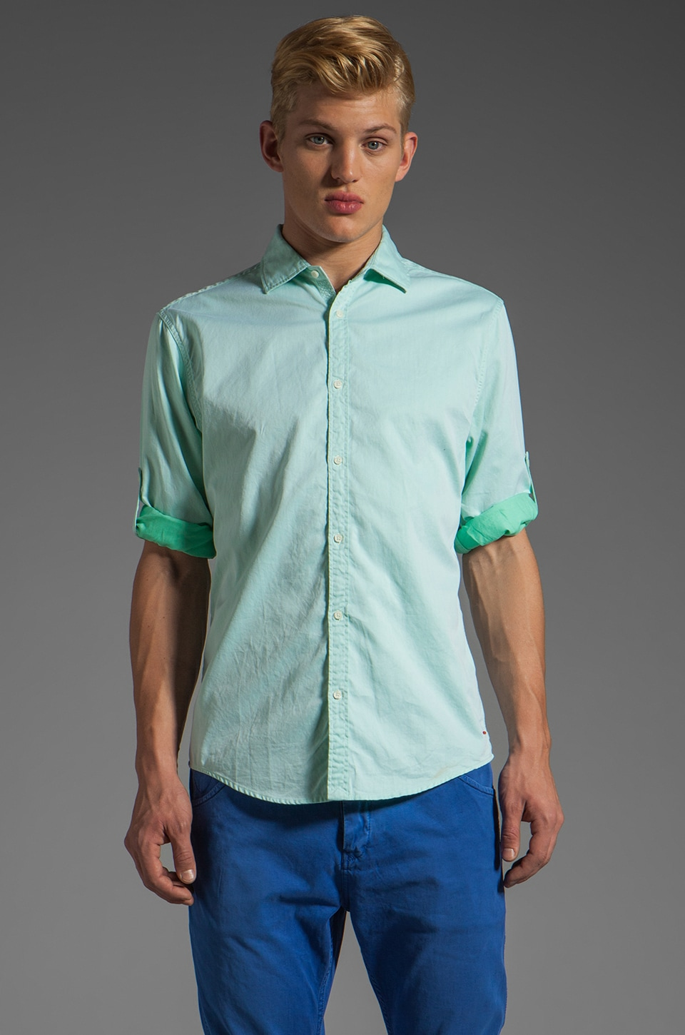 Scotch & Soda Oxford Shirt in Mint