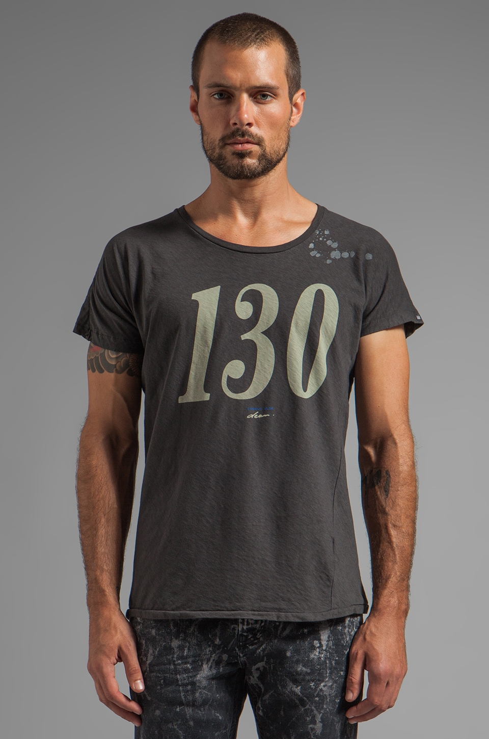 Scotch & Soda 130 Tee in Black