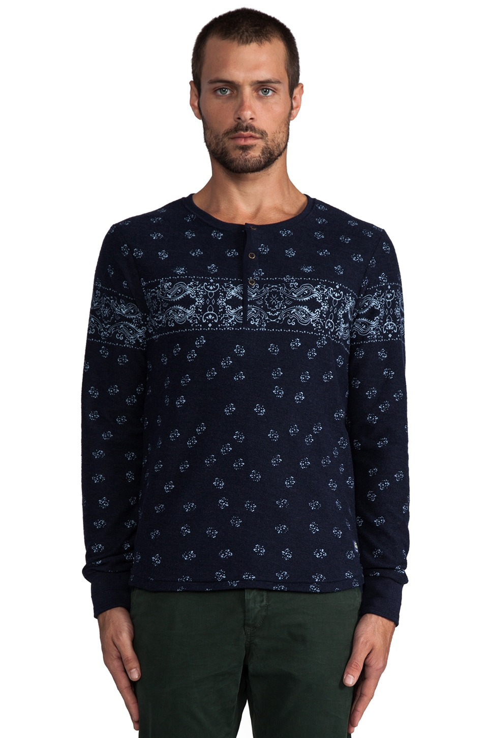 Scotch & Soda Baby Felpa in Indigo