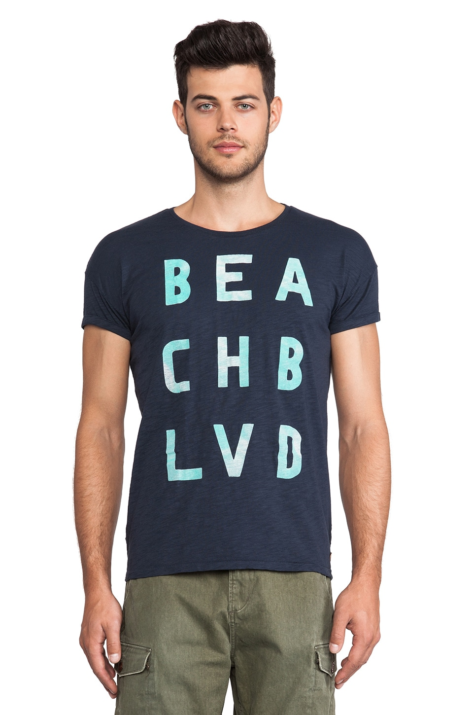 Scotch & Soda Beach Boulevard Tee in Night