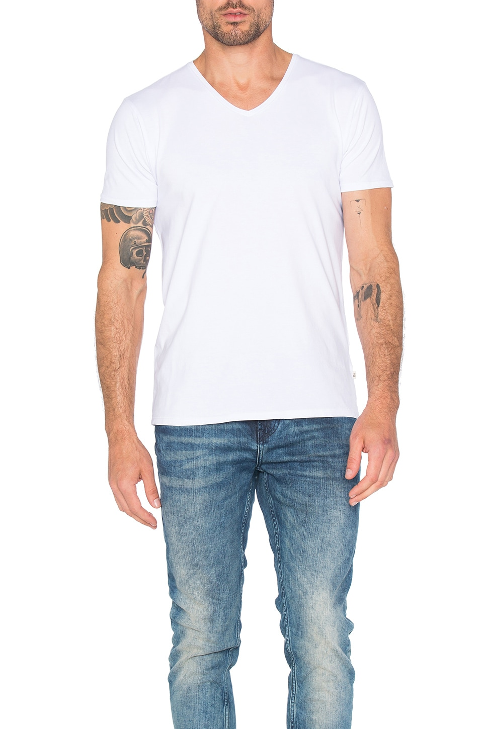 Classic V Neck Tee by Scotch & Soda