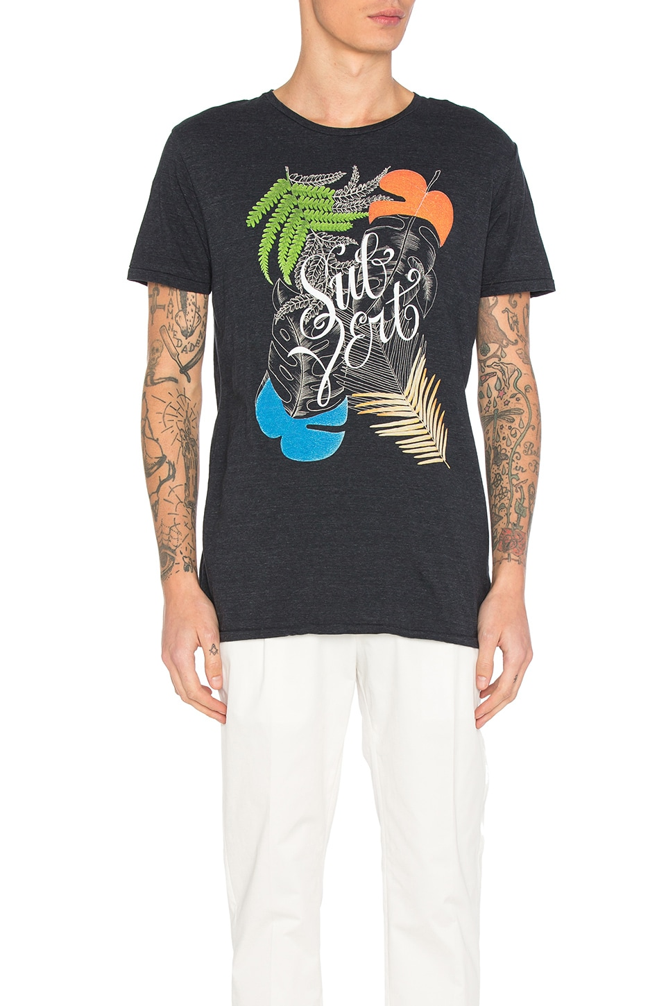 Chest Artwork Tee by Scotch & Soda