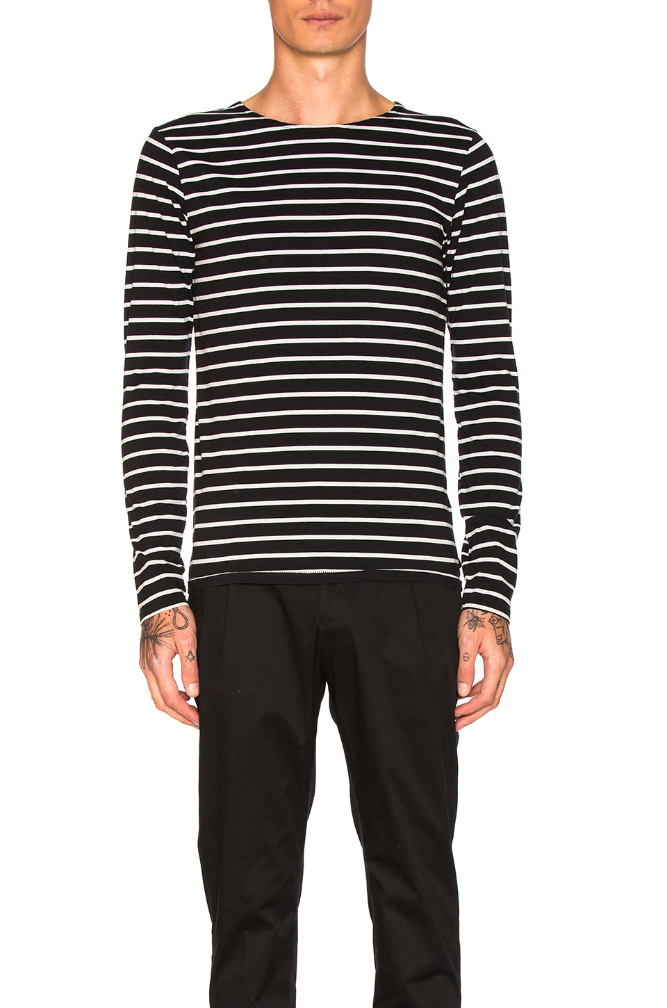 Classic Long Sleeve Tee by Scotch & Soda