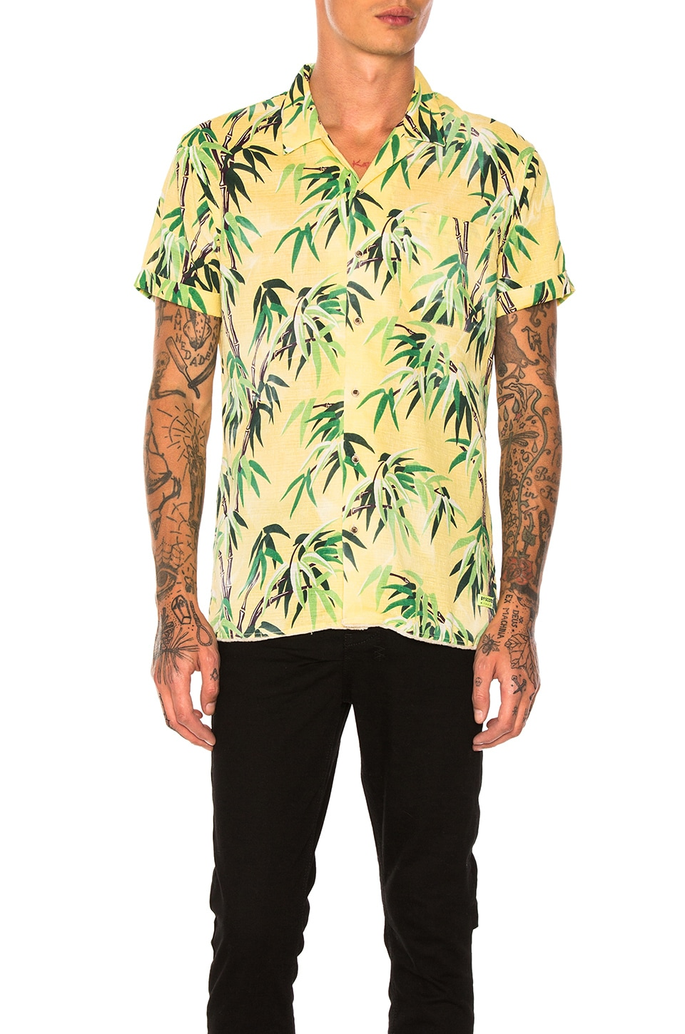 Short Sleeve Palm Tree Shirt by Scotch & Soda
