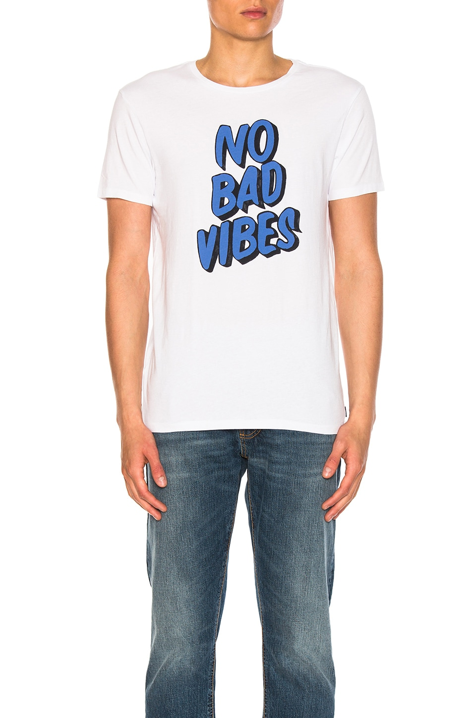 Photo of No Bad Vibes Tee by Scotch & Soda men clothes