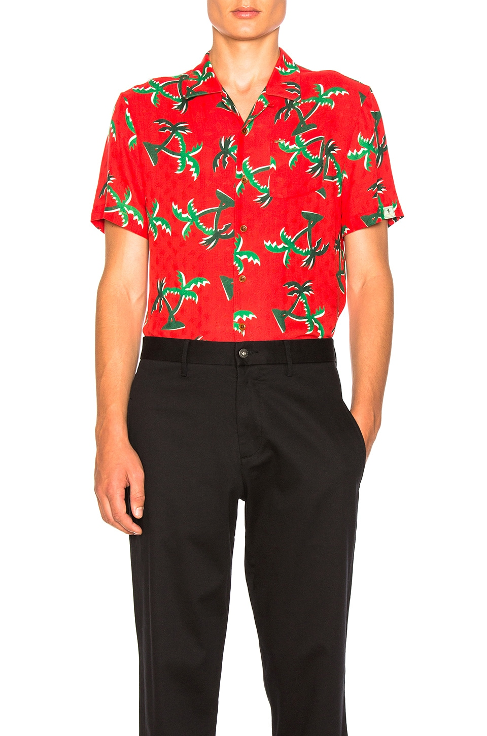 Short Sleeve Hawaii Shirt by Scotch & Soda