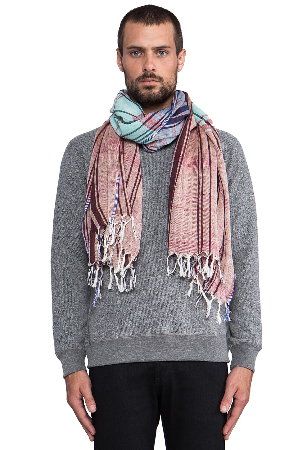 Scotch & Soda Check Scarf in Multi
