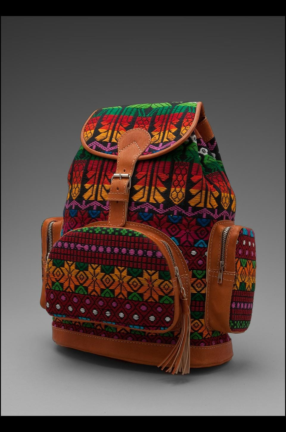 STELA 9 Antigua Backpack in Multi Bird