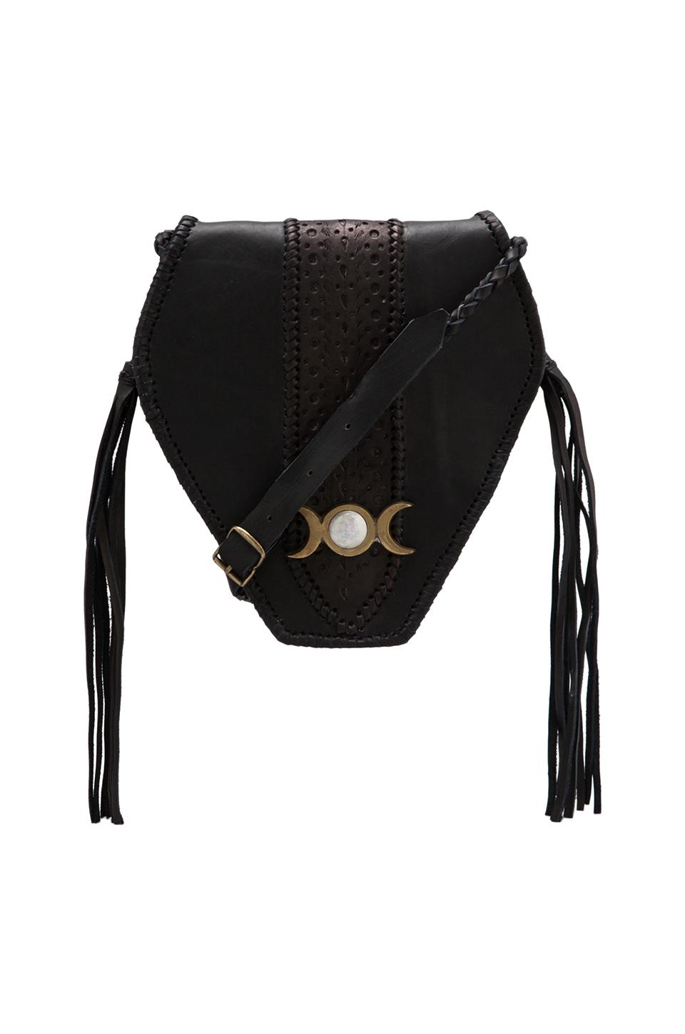 STELA 9 Pacaya Mini Crossbody in Black