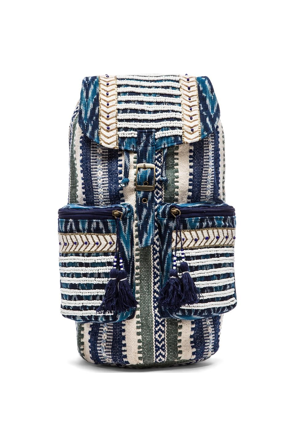 STELA 9 Shiva Backpack in Blue Multi