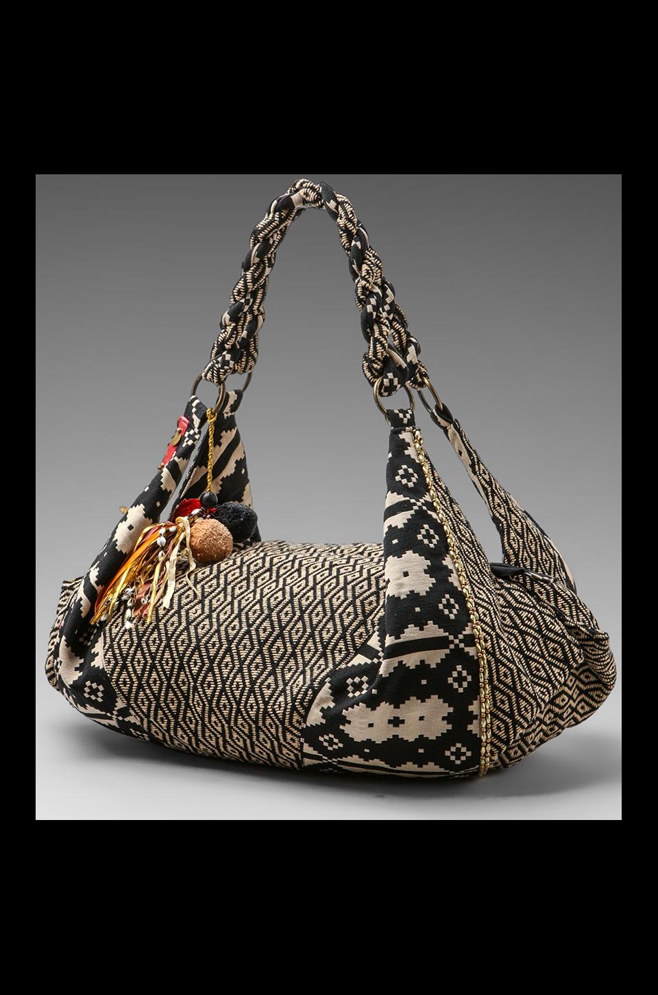 STELA 9 Shiva Hobo in Black/White