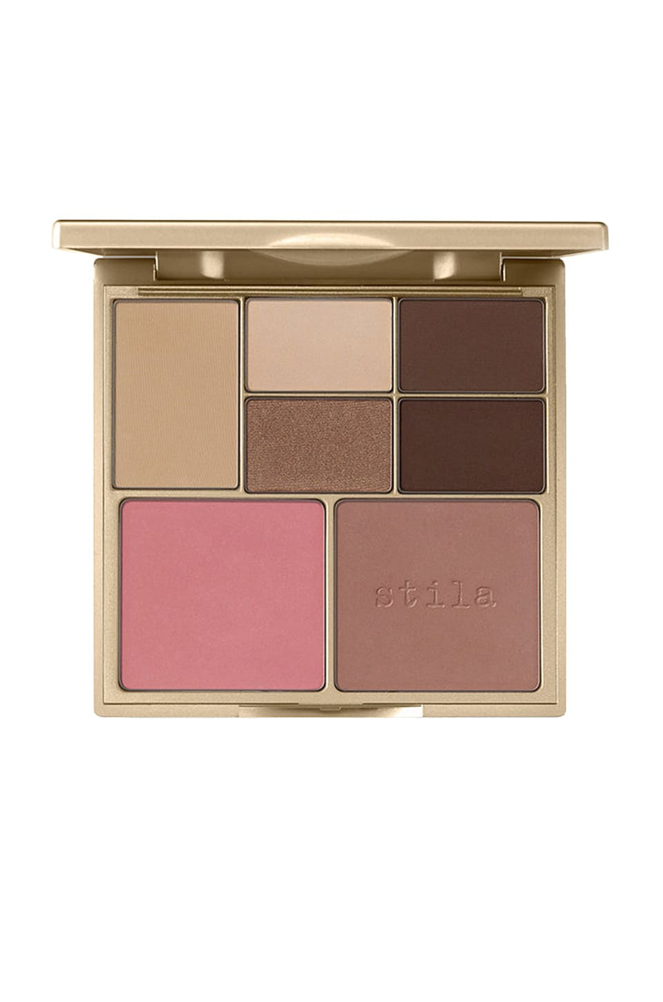 Stila Perfect Me Perfect Hue Eye & Cheek Palette in Light and Medium