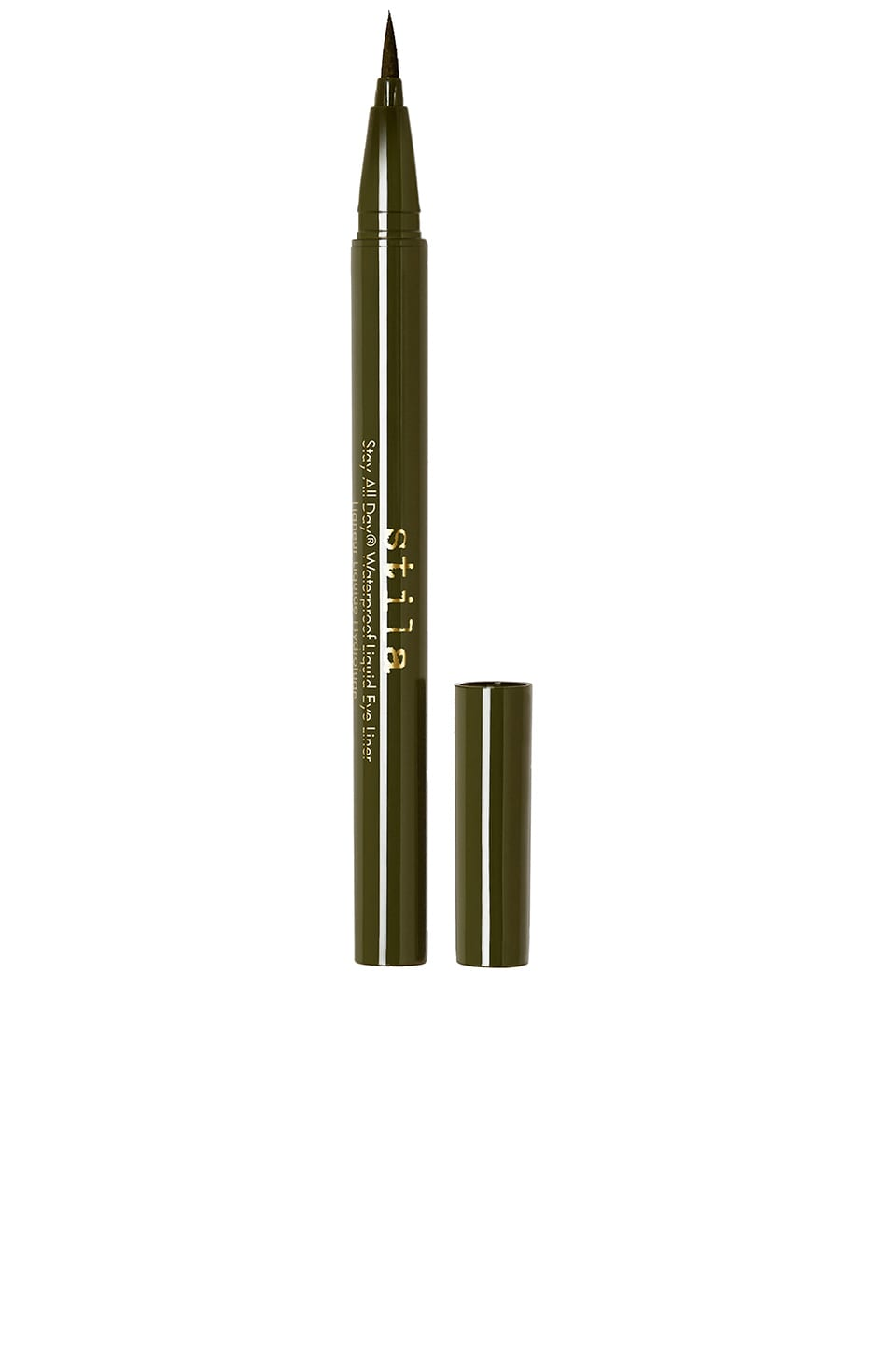 Stila Stay All Day Waterproof Liquid Eye Liner en Olive