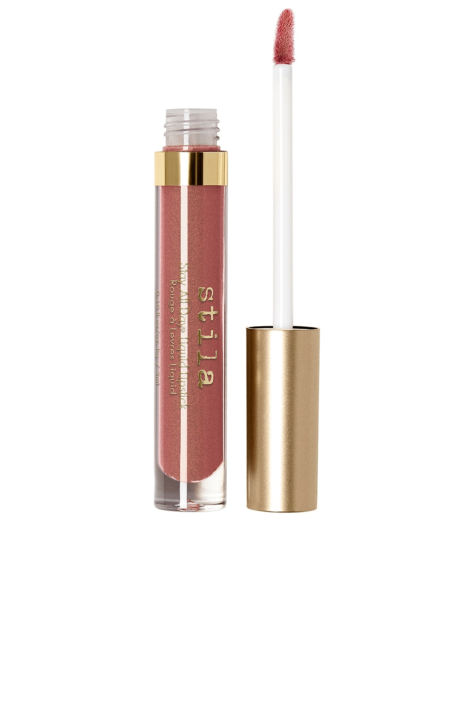 Stila Stay All Day Shimmer Liquid Lipstick in Miele Shimmer
