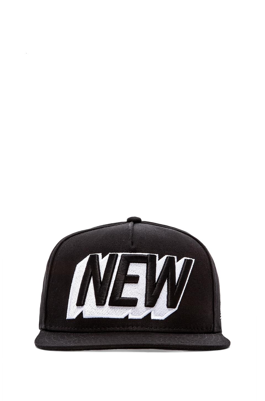 Stampd New Hat in Black