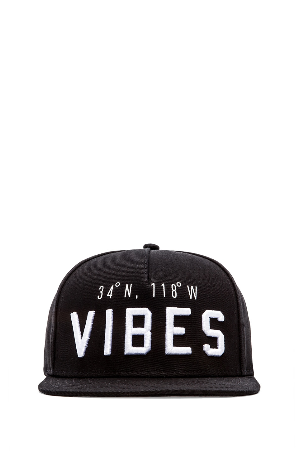 Stampd Vibes Hat in Black