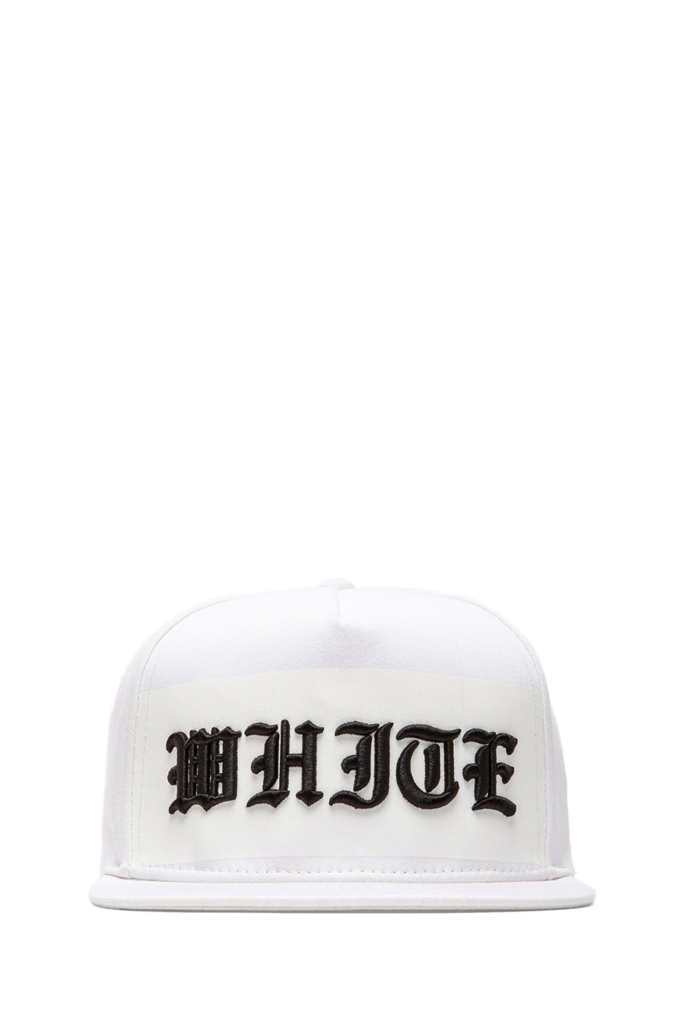 Stampd White on White Hat in White