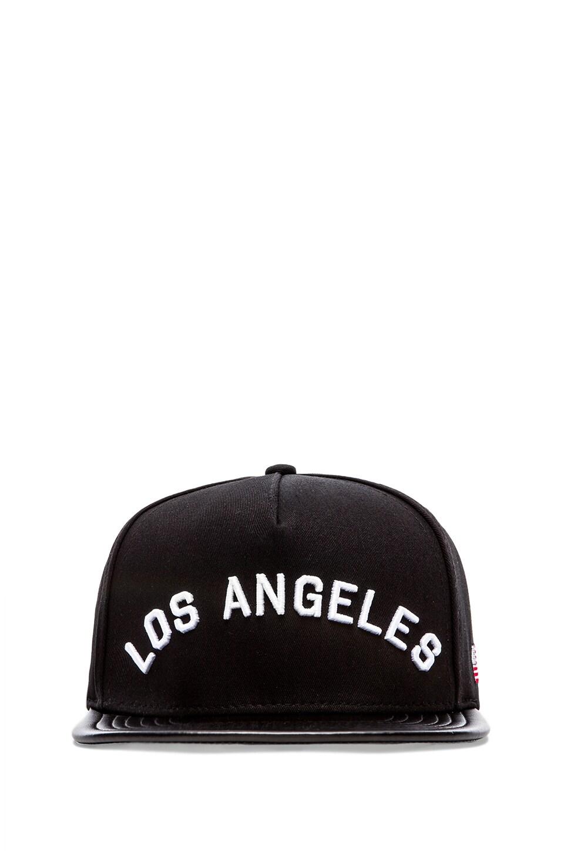 Stampd Los Angeles Hat in Black