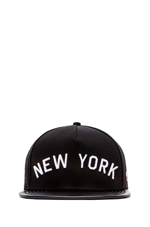 Stampd New York Hat in Black