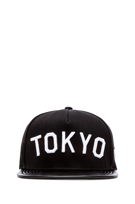 Stampd Tokyo Hat in Black