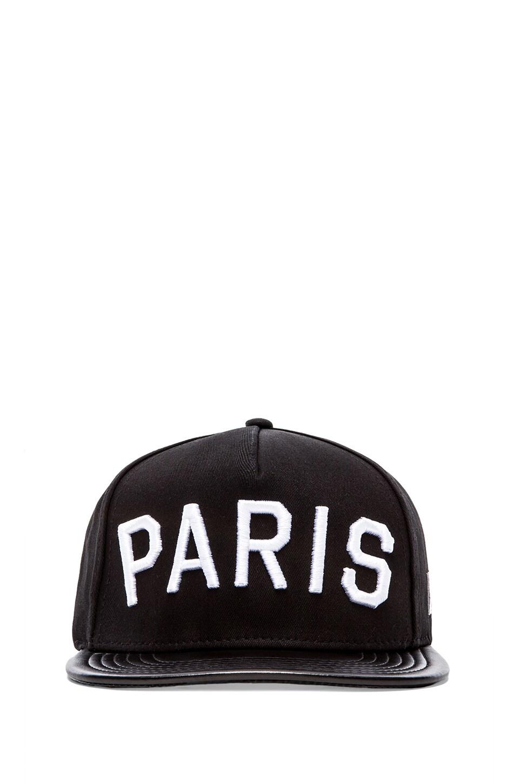 Stampd Paris Hat in Black