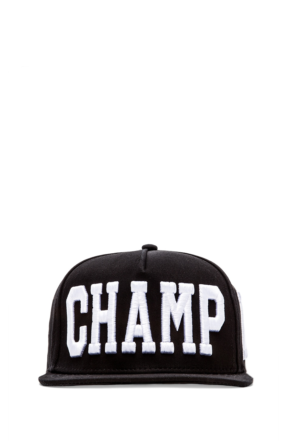 Stampd Champagne Hat in Black