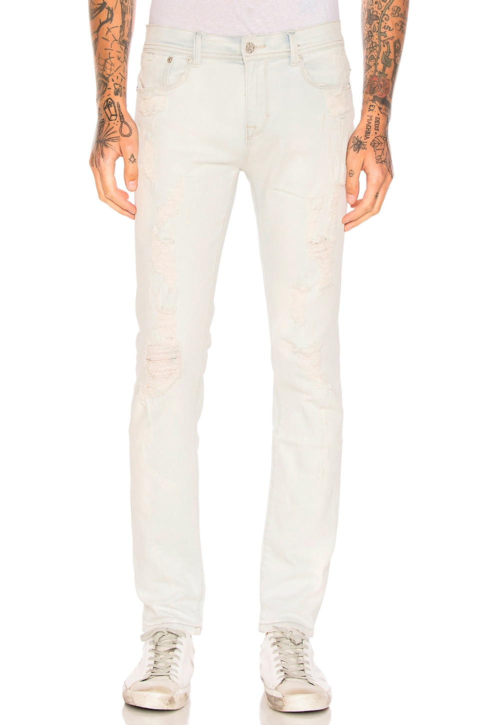 Distressed Skinny Jeans by Stampd