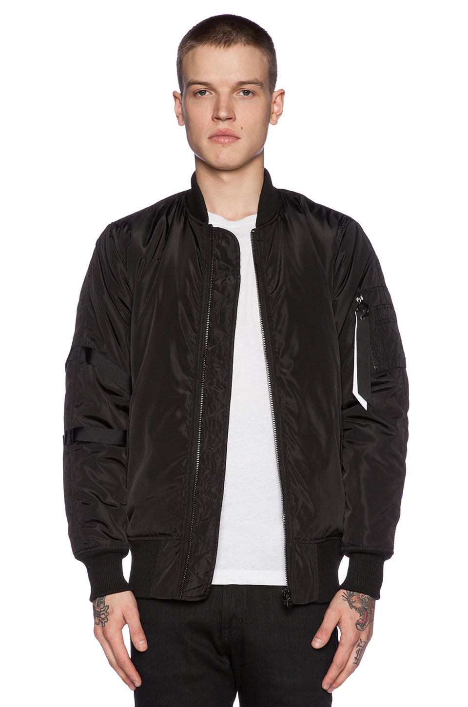 Thin Bomber Jacket Jacketin