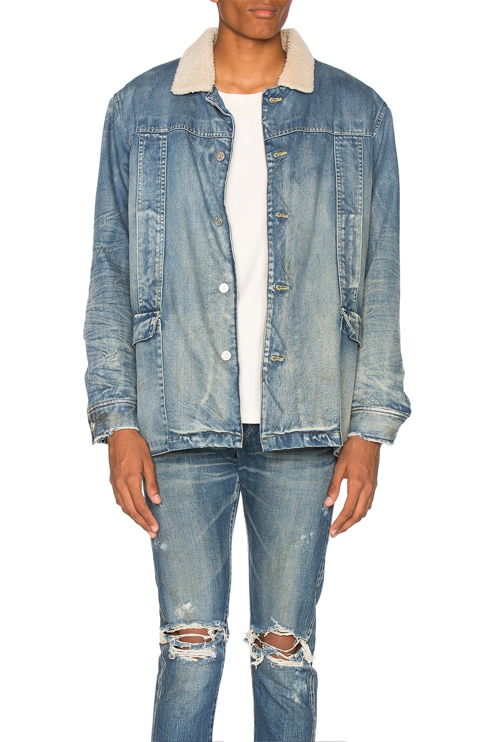 Denim Jacket by OFF-WHITE