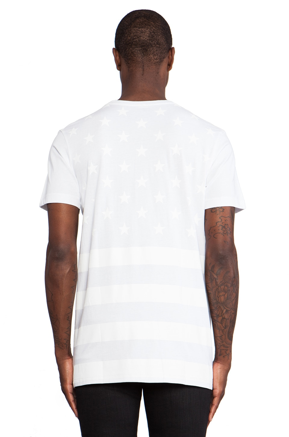 Stampd Flag Tee in White
