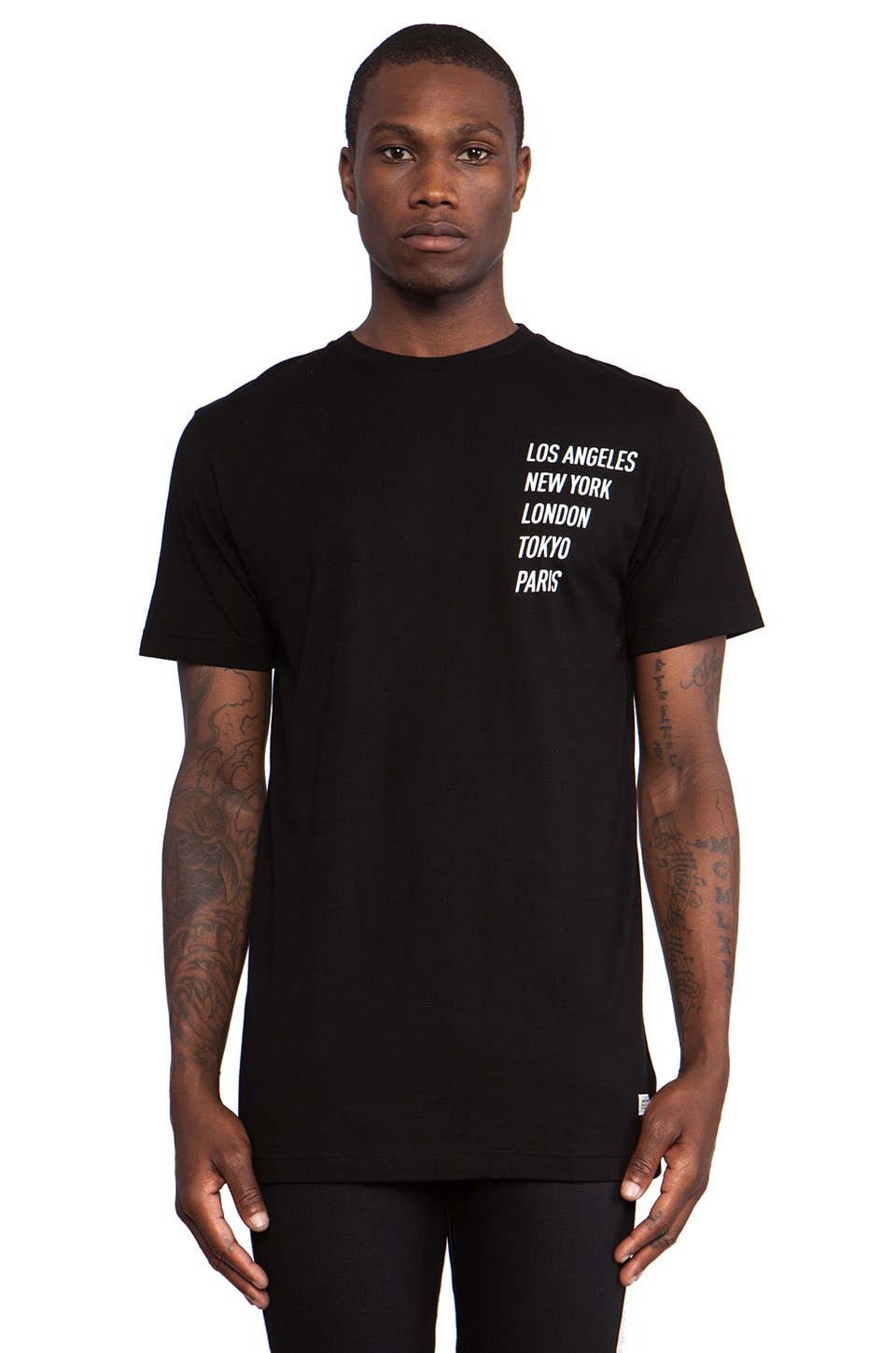 Stampd All City Flag Tee in Black