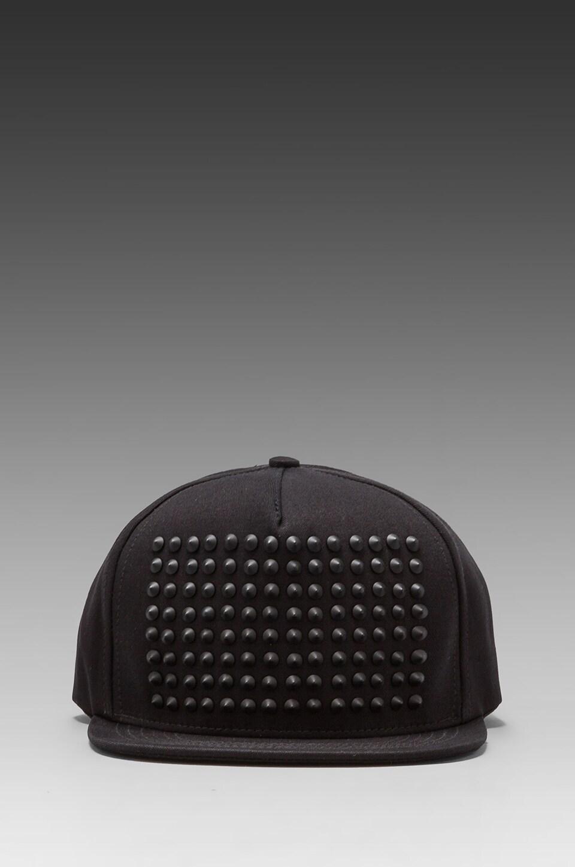 Stampd Studded Hat in Black