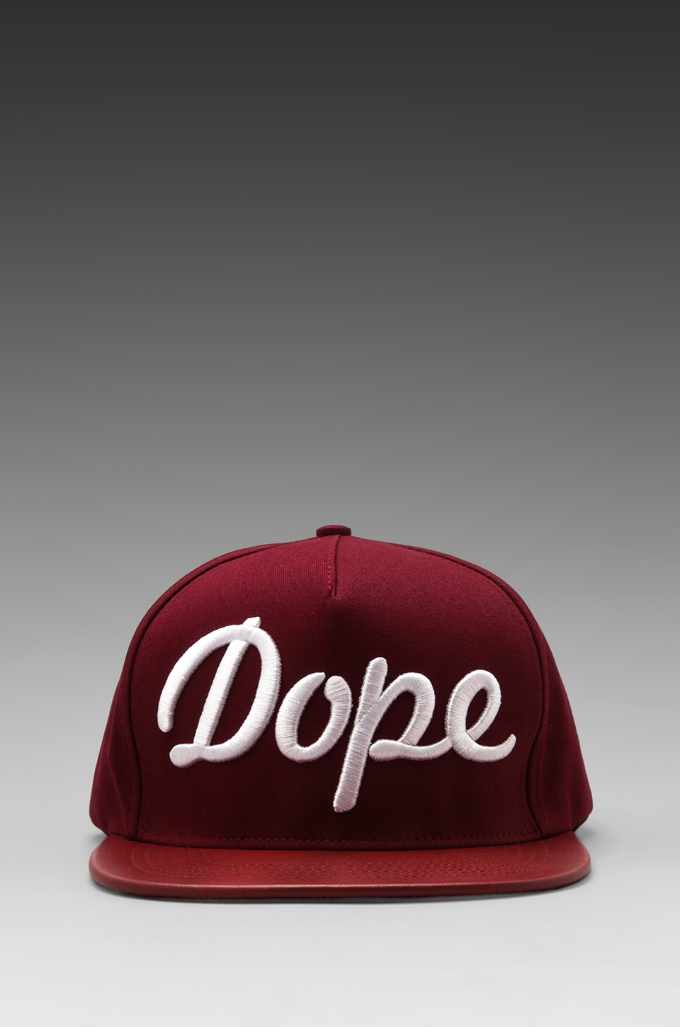 Stampd Dope Hat in Red/White