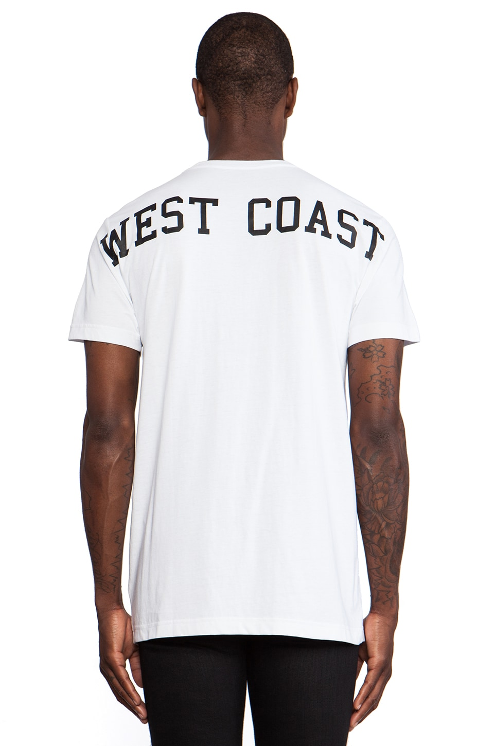 Stampd West Coast Tee in White