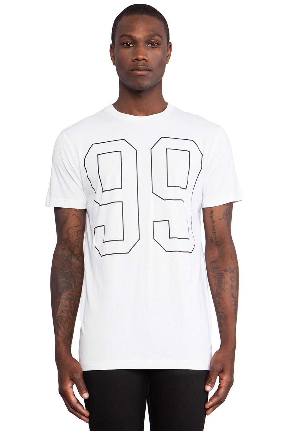 Stampd 99 Tee in White