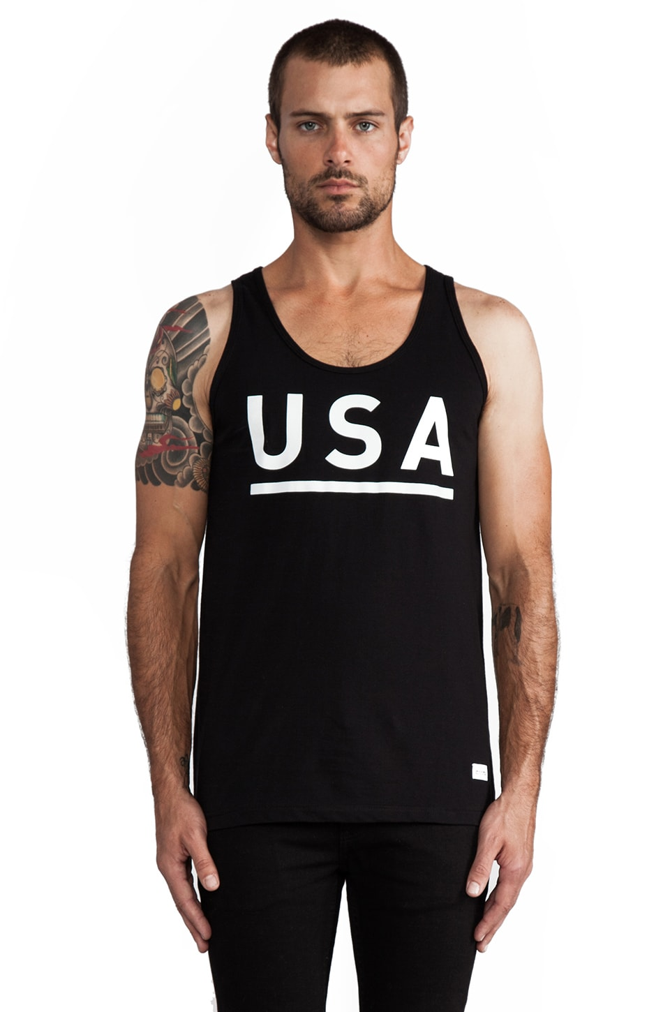Stampd USA Tank in Black