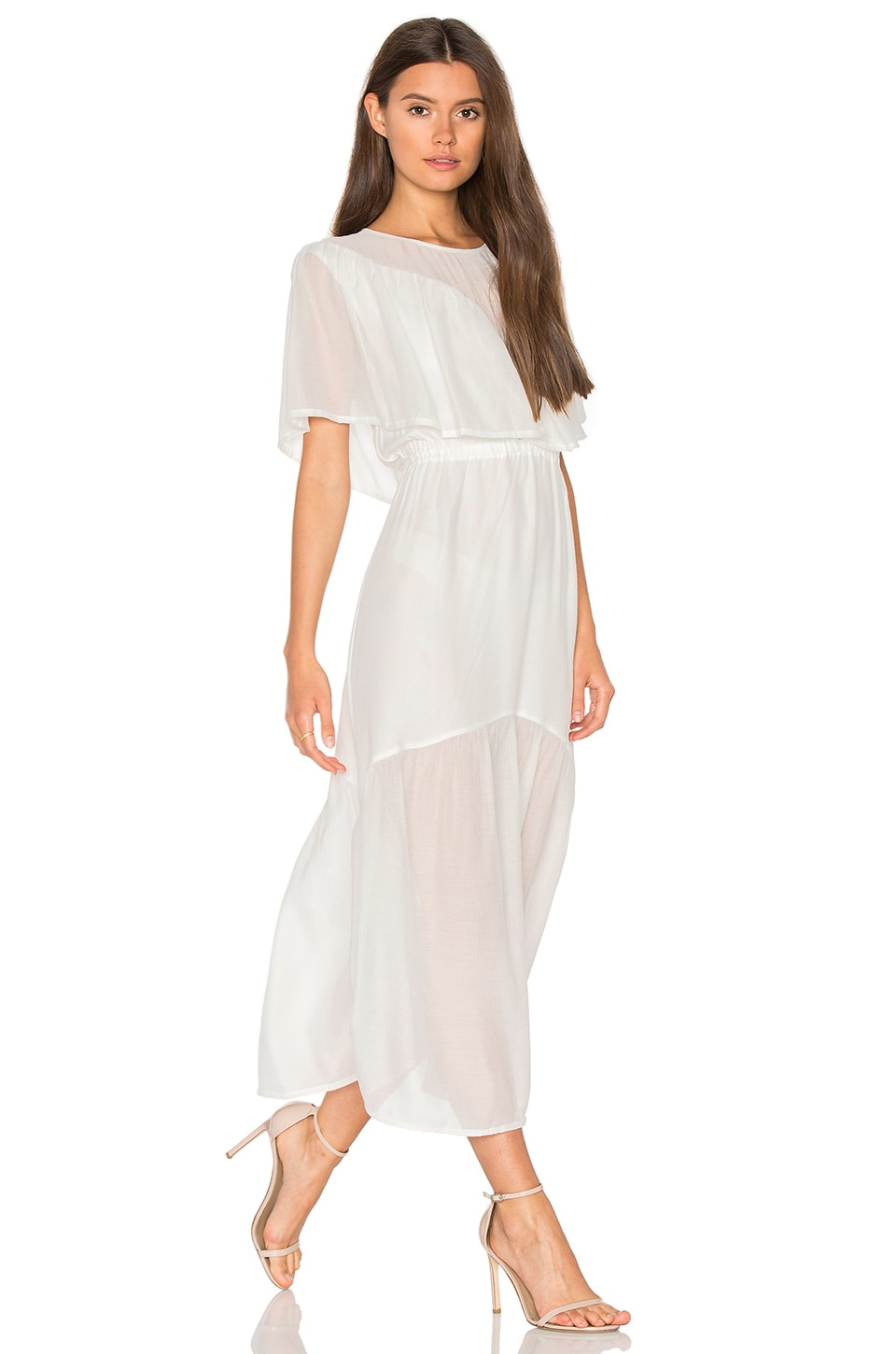 Shaee Cape Maxi Dress by Steele