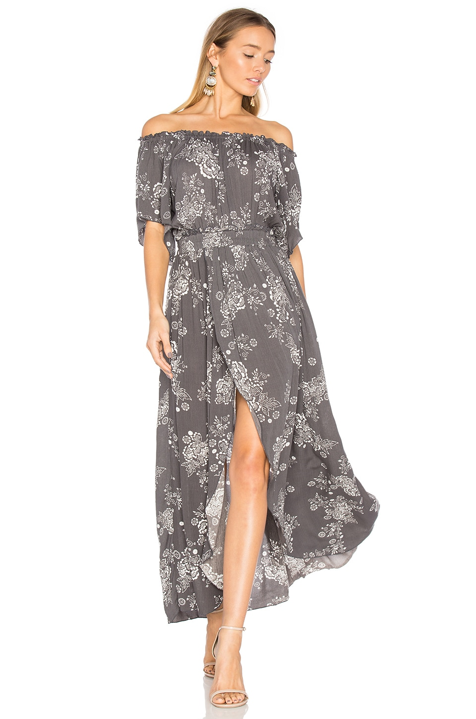 Steele Cooper Maxi Dress in Dark Oriental